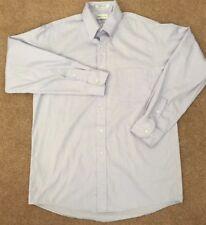 Van Heusen Mens 16 34/35 Pinpoint Oxford Dress Shirt