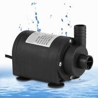DC 24V 1000L / H Warmwasser Zirkulieren Pumpe Solar Bürstenlose Motor Tauchpumpe