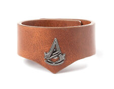 ASSASSIN'S CREED V LEATHER BLACK FLAG UNITY WRISTBAND OFFICIAL PROMO PROMOTIONAL