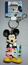 Disney Parks WDW 2018 Mickey Mouse Keychain Figurine Walt Disney World - NEW