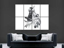 NATIVE AMERICAN INDIAN CHIEF POSTER PICTURE HUGE ART PRINT LARGE