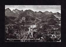 Frankierte Ansichtskarten ab 1945 aus Bayern mit dem Thema Burg & Schloss