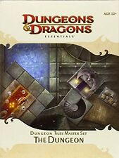 Dungeon Tiles Master Set: The Dungeon [With 10 Durable, Double-Sided Tile Sheets