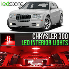 2005-2010 Chrysler 300 Red LED Lights Interior Kit