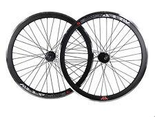 Deep V 43mm Fixie, Fixed Gear, Track, Single Speed Bike Wheels w. Flip Flop Hubs