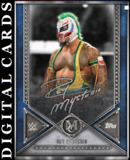 TOPPS WWE SLAM MUSEUM COLLECTION 2020 SILVER SIGNATURE REY MYSTERIO