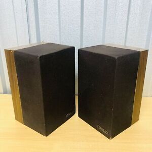 Vintage 1983 MISSION Model 70 2-Way Speaker System 75W 8Ω *READ*