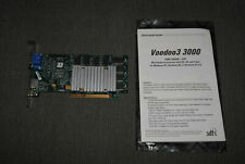3dfx Voodoo3 3000 16 MB SDRAM AGP Video Graphics Card + Install Guide