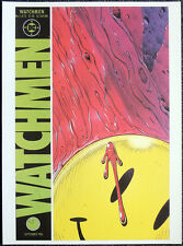 WATCHMEN REPRO POSTER . ISSUE #1 DAVE GIBBONS 1986 FRONT COVER . DC COMICS D72
