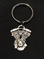 SHOVELHEAD MOTOR Keychain  HARLEY  DAVIDSON
