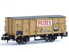 Brawa 67423 - Gedeckter Güterwagen G10 Pattex DB Ep.III - Spur N - NEU