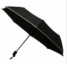 Light Weight Anti-UV Rain Sun Windproof Automatic Umbrella - BLACK