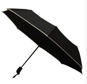 Light Weight Anti-UV Rain Sun Windproof Automatic Umbrella - BLACK