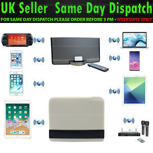 🔥 30 pin Bluetooth Music Receiver Adapter for BOSE Sound Dock 2,10 & Portable