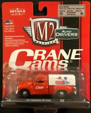 M2 Machines Red Crane Cams 1954 Studebaker 3R Truck 1:64 Diecast New 2018