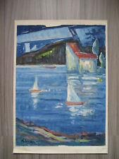 BERTHOLD ELSÄSSER, 1891 Ramsbeck, Sauerland, 1965 Hilden, Expressionist
