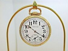 VINTAGE HAMILTON 16 SIZE POCKET WATCH MODEL 950 MADE IN 1919 1B