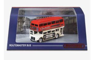 Matchbox Mattel Creations Routemaster Bus In Hand