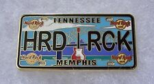 HARD ROCK CAFE MEMPHIS LICENSE PLATE SERIES PIN # 82591