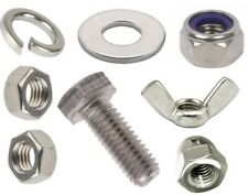 M10 A4-316 STAINLESS STEEL FASTENERS FULLY THREADED BOLTS SCREWS NUTS or WASHERS