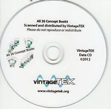 All 26 Tektronix Concept Books on CD