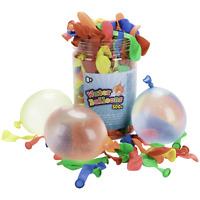 NOUVEAUTER Ballons d'eau 500 pièces utilisé pour les fêtes sur la plage etc