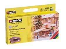 14392 Noch HO, Weihnachtsmarktstand 8x5x3,5 cm, Laser-Cut minis, Modelleisenbahn