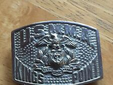 US Merchant Marine Academy Kings Point Belt Buckle