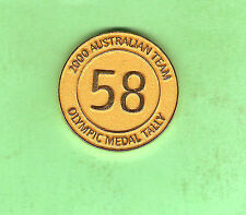 SYDNEY 2000 OLYMPIC MEDAL - TOTAL MEDAL TALLY