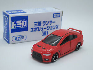 Tomica Japan Event Limited 58 Mitsubishi Lancer EVO X 10 red Edition Tomy