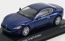 Scale model 1/43 Maserati Granturismo 2008 Blue Metallic