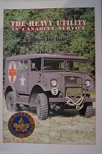 WW2 Canadian Service Heavy Utility Truck CMP Vehicle Reference Book