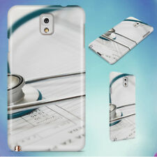 BLUE AND SILVER STETOSCOPE HARD CASE FOR SAMSUNG GALAXY PHONES