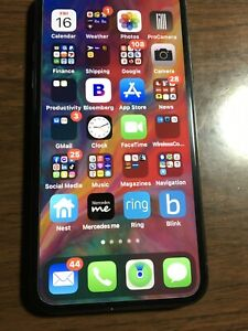 Apple iPhone X - 256GB - Space Gray (Unlocked) CDMA & GSM version  14.2 IOS