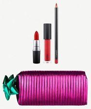 MAC Shiny Pretty Things Goody Bag Lips Perfect Gift For Women Girls Set