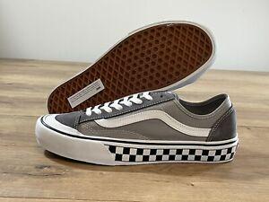 Vans Style 36 Decon SF Skate Shoes Pewter/True White MN SZ 9 ( VN0A3MVL195 )
