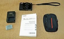 Canon PowerShot G9 X Mark II 20.1MP Digital Camera - Black CANON REFURBISHED