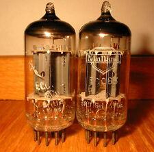 2 MATCHED 1958 MULLARD tel ECC83 12AX7 AVO Tester 103% -118% cuivre postes