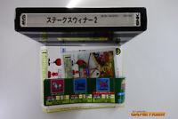 STAKES WINNER 2 + Flyer SNK Neo Geo MVS Japan