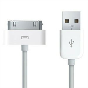 für Apple iPhone 4 / 4S, Weiß USB-Lade- und Datenkabel, Hochwertige Qualität