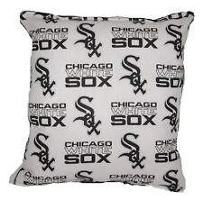 White Sox Pillow Chicago White Sox MLB Pillow Baseball Pillow HANDMADE in USA