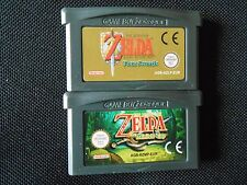 GBA Legend Of Zelda A Link To The Past / Four Swords AND  ZELDA  MINISH CAP