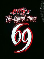 BILLYs BAR THE LEGEND SINCE 69 KUTA BALI MUSCLE TANK MEN L TOURIST SOUVENIR 1969