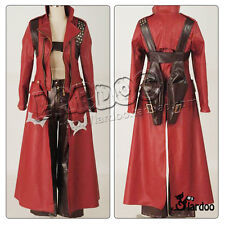 Devil May Cry IV 3 Dante Halloween Clothing Cosplay Costume Any Size