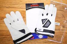 USHA EDGE Premium Handball  Gloves  SIZE: XL X-LARGE UNPADDED, STRAPPED