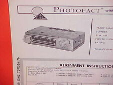 1965 CHEVROLET GMC PICKUP TRUCK SUBURBAN PANEL STAKE AM RADIO SERVICE MANUAL 65