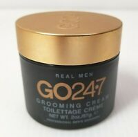 GENTLY USED GO24-7:Real Men Grooming Cream 2 oz / 57 g