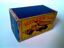 Boîte copie repro MATCHBOX LESNEY 6 euclid quarry truck ( reproduction box )