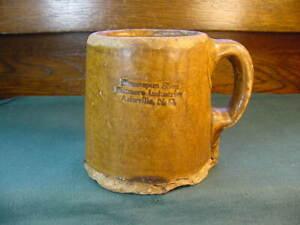 Brown Pottery Arden N C Mug Homespun Shops Biltmore Industries Asheville N C