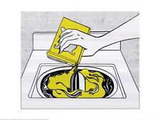 Washing Machine by Roy Lichtenstein - 30x24 Print Poster OUT OF PRINT LAST ONES